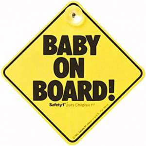 "SAFETY 1ST ZNACZEK ""BABY ON BOARD"""